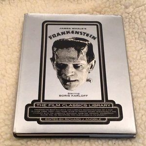 Frankenstein hardcover book by James Whale